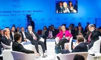 Concluye XII Foro Económico Mundial sobre América Latina