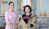Actividades de la jefa legislativa vietnamita en Suecia