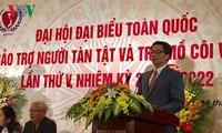 Vietnam garantiza derechos para la autonomía y superación de sus discapacitados
