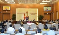 Inauguran IX sesión del Comité Permanente de la Asamblea Nacional de Vietnam