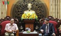 Embajada vietnamita en Egipto coordinar con Radio nacional en tarea de información