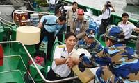 Delegación intersectorial visita territorio meridional de Truong Sa