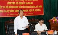 Instan a acelerar la reducción de la pobreza en la provincia norteña de Ha Giang