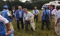 Representantes de la ONU visitan zona transitoria para guerrilla colombiana