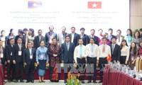 Celebran seminario e intercambio profesional entre las oficinas parlamentarias de Vietnam y Laos