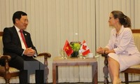 Canadá respalda Vietnam para hacer frente al cambio climático