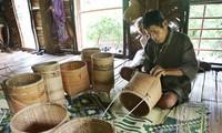 La cestería, un oficio artesanal importante de la etnia Pako