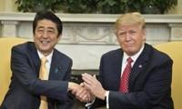 Abe y Trump acuerdan presionar a Corea del Norte para que cambie sus políticas