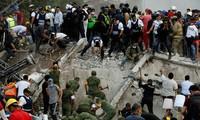 Tres sismos sacuden de nuevo a México