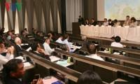 Celebran una conferencia internacional en Tokio sobre el Mar Oriental