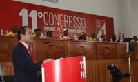 Delegación del PCV asiste al congreso del Partido de FRELIMO en Mozambique
