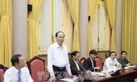El presidente vietnamita urge a garantizar la máxima seguridad de la Semana de alto nivel del APEC
