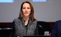 Legisladora mexicana elegida presidenta de la Unión Interparlamentaria