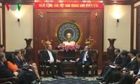 Ciudad Ho Chi Minh y Estados Unidos fortalecen lazos