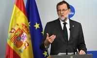 España anunciará medidas para una intervención en la región autónoma de Cataluña