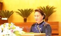 La líder parlamentaria de Vietnam visitará Singapur y Australia