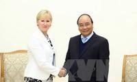 Vietnam busca ampliar la cooperación con Suecia