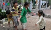 Los juegos populares en la vida de los étnicos Cham