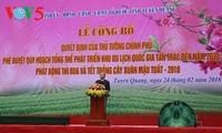 Tierra revolucionaria de Tan Trao, por convertirse en importante zona turística nacional en 2030