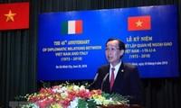 Celebran en Ciudad Ho Chi Minh 45 aniversario de las relaciones entre Vietnam e Italia