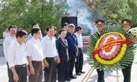 Wapres Vietnam Nguyen Thi Doan melakukan kunjungan kerja di propinsi Quang Tri