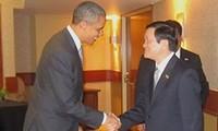 Kunjungan di AS yang dilakukan Presiden Truong Tan Sang akan menjadi tonggak sejarah