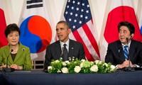 Gedung Putih menegaskan kepentingan dari hubungan AS-Jepang-Republik Korea