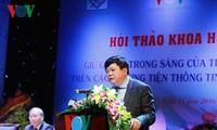 "Lokakarya ilmiah nasional ""Menjaga kemurian Bahasa Vietnam di media masa"""