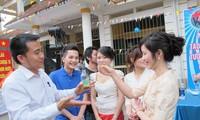 Memperkenalkan sepintas lintas tentang  para mahasiswa Laos yang belajar di Vietnam
