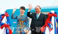 PM Vietnam, Nguyen Xuan Phuc melakukan kunjungan resmi di Jepang