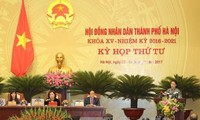 Khai mạc kỳ họp thứ 4 Hội đồng nhân dân thành phố Hà Nội khóa XV