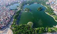 Memperkenalkan sepintas lintas tentang danau-danau di ibukota Hanoi