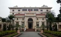 Penjelasan mengenai Perpustakaan Nasional di kota Hanoi