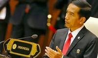 Presiden Indonesia menyerukan rakyat untuk bersatu untuk menghadapi ancaman ancaman kaum ekstremis