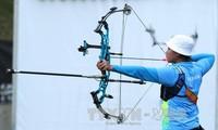 Olahraga memanah terus menggondol medali ke-2 untuk Vietnam di SEA Games 29