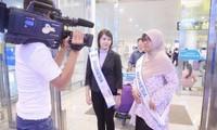 """Para penyanyi Indonesia menghadiri Kontes  """"Nyanyian ASEAN +3"""""""