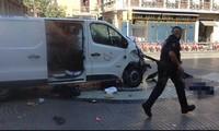 Tabrakan mobil di Bacelona: Tersangka sopir sedang melarikan diri