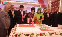 Resepsi sehubungan dengan ultah ke-72 Hari Kemerdekaan Republik Indonesia