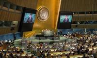 Persidangan ke-72 Majelis Umum PBB: AS, Jepang dan India menekankan kebebasan maritim