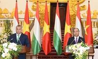 Pembicaraan tingkat tinggi Vietnam-Hunggaria