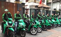 Penjelasan VOV tentang jasa layanan Grabbike di Vietnam