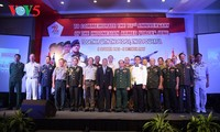 Peringatan ultah ke-72  berdirinya TNI (1945-2017) di Kota Hanoi