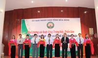 """Pembukaan pameran  mengenai """" Kebudayaan Hoa Binh"""""""