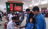 Memperkenalkan gerakan peberian donor darah di Vietnam