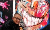 """Karya-karya lukisan """"miliaran"""" dari pelukis Le Kinh Tai"""