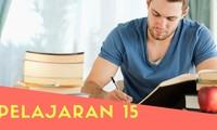 Pelajaran 15