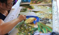 Perkenalan sepintas lintas tentang kerajinan bordir  di Vietnam