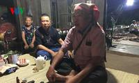 Upacara  mengucapkan selamat hari ulang tahun dari warga etnis minoritas Nung di Provinsi Bac Giang