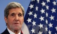 Госсекретарь США Джон Керри прибыл в Камбоджу с визитом
