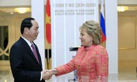 Президент Вьетнама встретился с председателем Совета Федерации РФ